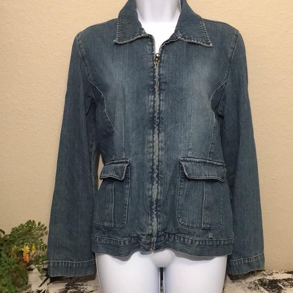M.D.L. New York Jackets & Blazers - M.D.L. New York Denim Jacket